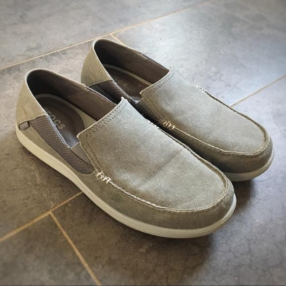90de22110d7 CROCS Other - Men s Santa Cruz 2 Luxe Crocs (light grey)